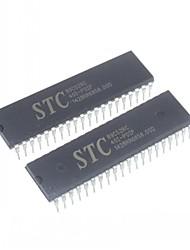 stc89c52rc stc 89C52 DIP-40 Microcontroller (2 Stück)