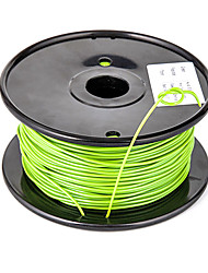 Sunlugw PLA Flexible Plastic Wire 3D Printer Filament 3D Printing Consumables Material(1.75 3.0mm,0.5KG)