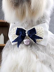 Cat / Dog Hair Accessories / Tie/Bow Tie / Hair Bow Blue Dog Clothes Spring/Fall Wedding / Cosplay