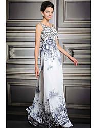 Fiesta formal Vestido Corte A Tirantes