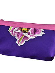 Mini Embroidery Cosmetic Bag