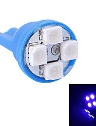 gc® t10 4W 120LM 4 × 3528 SMD LED luz azul para a luz instrumento carro / porta / lâmpadas tronco (DC 12V)