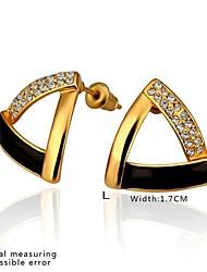SSMN Women's Gold Plate Earrings