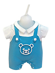 Blue Baby Dress Candle