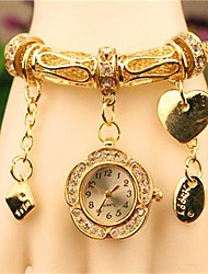 Women's 2015 The Latest Love Fashion Metallica Quartz Watch Cool Watches Unique Watches