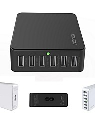 ICH-03 Universal 6 Ports USB Desktop Rapid Smart Charger for iPad/iPone/Samsung and Others