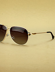 Polarized Aviator Alloy Retro Sunglasses