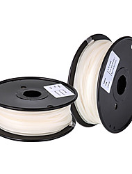 DAZZLELIGHT PVA Water-soluble 3D Printer Filament 3D Printing Consumables Material(1.75 3.0mm,±0.02mm,White,0.5KG)