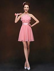 Vestido de Madrinha - Como na Foto Tubo/Coluna Frente única Mini