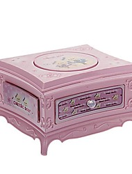 Music Life Music Box Casket Mirror