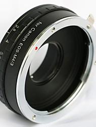 встроенная апертурой Canon EOS объективов EF для Olympus panasonica микро м адаптер 43 M43