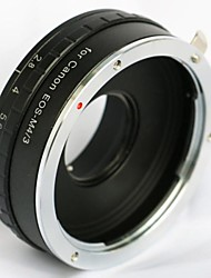 construir na abertura Canon EOS objectiva EF para OLYMPUS panasonica micro m adaptador de 43 M43