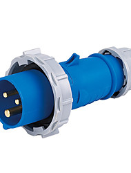 HENNEPPS HN1571 Waterproof Industrial Connector Male Industrial Plug CE 230V 50A 2P+E IP44 6H 10-16mm²