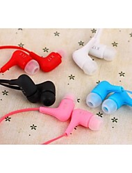 X17 Style Jelly Color In-Ear Headphones for iPhone And Other (Assorted Colors)