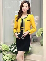 Sagetech®Women's Two-piece Bodycon Elegent Suit (Coat & Dress)