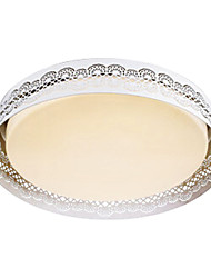 Warm White Light Flush Mount,12 Light Modern Metal
