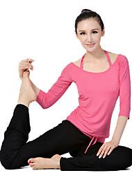 Women's Yoga Suits Long Sleeve Pink Yoga S / M / L / XL / XXL