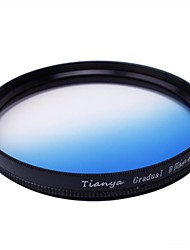 TIANYA® 52mm Circular Graduated Blue Filter for Nikon D5200 D3100 D5100 D3200 18-55mm Lens