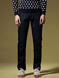 Moda Uomo per il tempo libero pantaloni pantaloni da cowboy