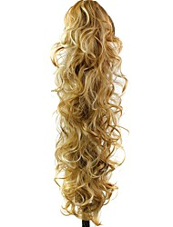 Claw Clip Synthetic Ponytail 30 Inch Long Curly Hair Extension
