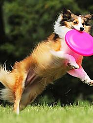 morsure de frisbee doux animal résistant disque de silicone pour les animaux chiens chats