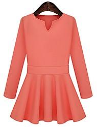Sagetech®Women's V Neck Slim Thin Bubble Dress (More Colors)