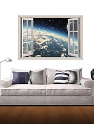 3D Wall Stickers Wall Decals, Space Star Decor Vinyl Wall Stickers