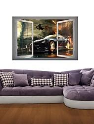 3d stickers muraux stickers muraux, des voitures de luxe décor muraux en vinyle autocollants