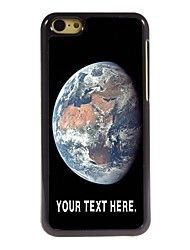 Personalized Case The Earth Design Metal Case for iPhone 5C