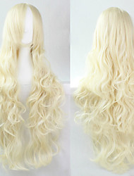 Cosplay Blonde Fashion Must-have Girl High Quality Long Curly Hair Wig