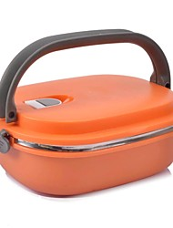 Kitchen Stainless Steel Plastic Lunch Box