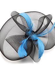 Sombreros/Joyería Para la Frente ( Pluma , Pluma