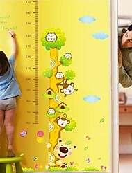 Environmental Removable Children Height PVC Wall Sticker