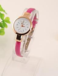 Bracele Relógio - Mulher/Crianças - Quartz - Pele