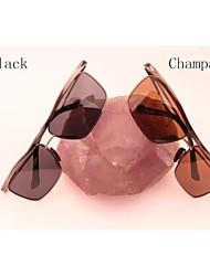 Солнцезащитные очки люди / женщины / Унисекс's Классика Прямоугольная Солнцезащитные очки Половинная оправа