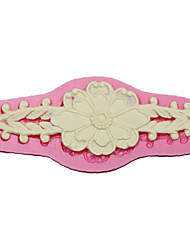 Lace Sugarpaste Moulds And Flower Silicone Cake Mold