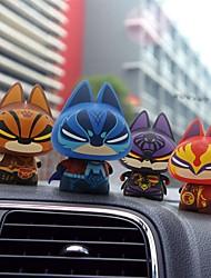 chiffres figurine mesures de jouets zhuaimao® super-héros cadeau créatif pour l'ami voiture décoration de la maison de décoration (4pcs)