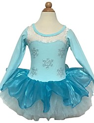 BHL Grils Long Sleeve Cosplay Ballet Tutu Dancewear Medium Dresses (Chiffon/Cotton)  SZ 2-8 Years
