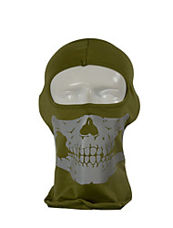 Qinglonglin Cotton Skull Outdoor Windproof Dustproof Motorcycle Balaclava Mask