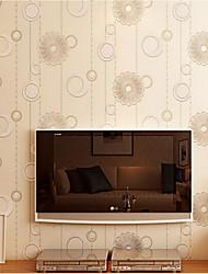 обои импорт Германия мускус 3d букеты кремово-белый цвет стен, охватывающих нетканого искусство обоев