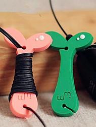 Cute Seeding Earphone Wire Cable Line Bobbin Winder Kids Birthday Wedding Baby Shower Return Gift