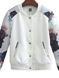 Women's Casual Round Neck Jackets