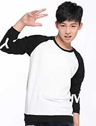 OFFSIDE®2015 Fashion Design Name Brand 100% Cotton Long Sleeve O-Neck Boys T Shirt/Tees