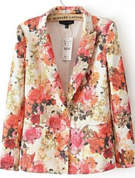 Women's Printed Leisure Small Suit