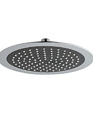 Contemporary Chrome Finish Eco-friendly  A Grade ABS Shower Head