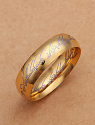 BBG Man's Gold Plating Ring