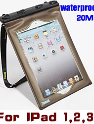 Tteoobl 20M PVC Tablet PC Waterproof Bag Anti-Dust Cover Underwater Dry Case Pouch Housing For Apple IPad 1 2 3 4