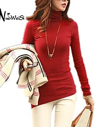 Women's White/Black/Brown Blouse Long Sleeve