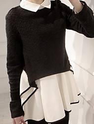 moda vestido causual skater de Vivi mulheres