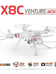 Newest Syma X8C Quadcopter with HD Camera RC Drone 4 Channel 2.4G RC 6 Axis 3D Flip Fly UFO
